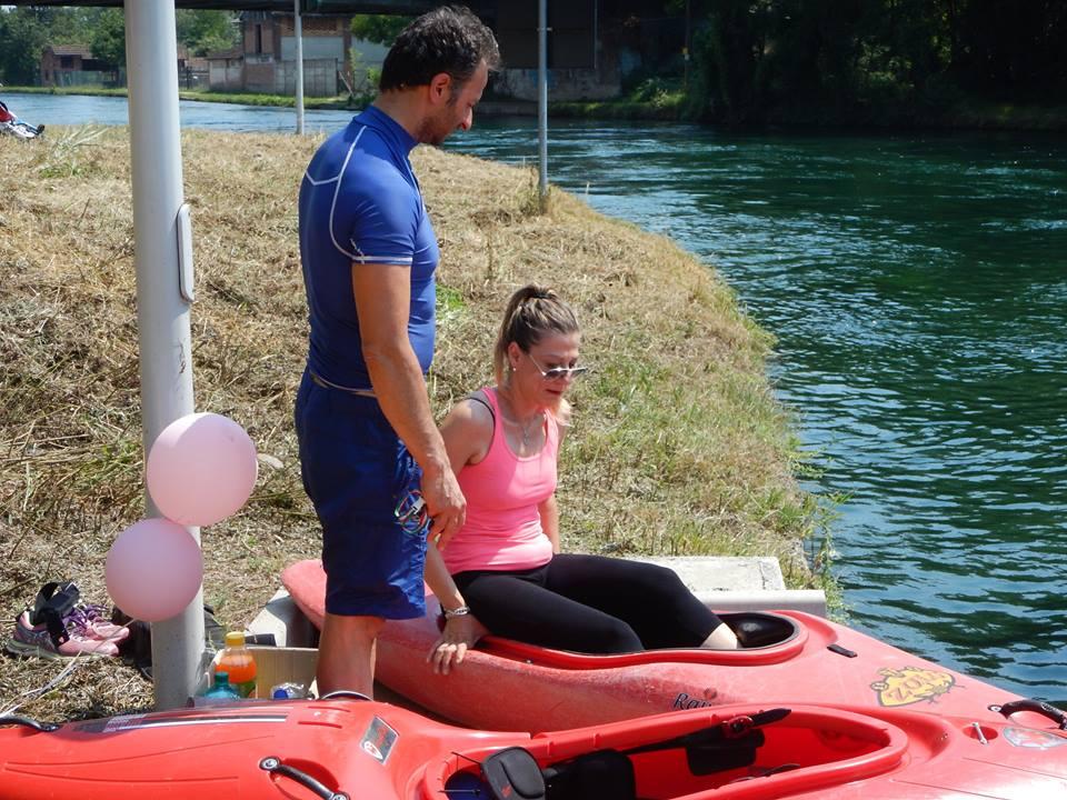 """Kayak in Rosa   Associazione """"Cuore di Donna"""""""