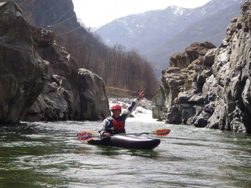 31 marzo 2014 in canoa – entusiasmante by fede