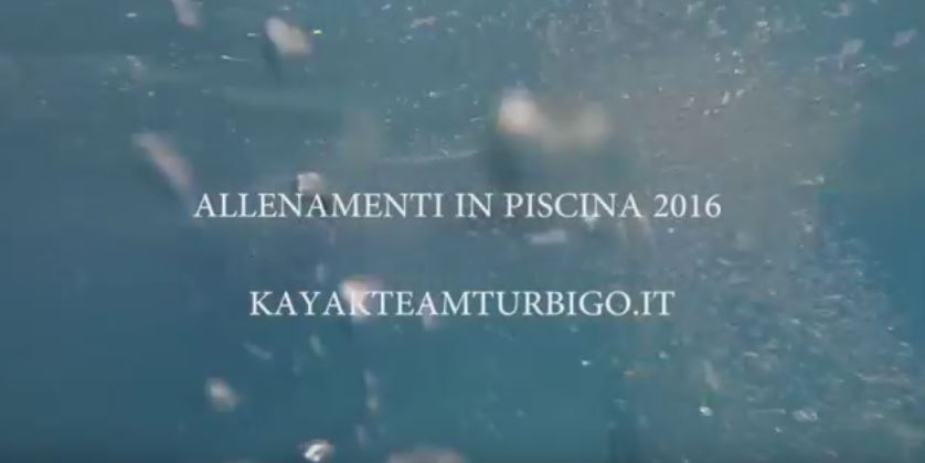 PISCINA KAYAK TEAM TURBIGO 2016